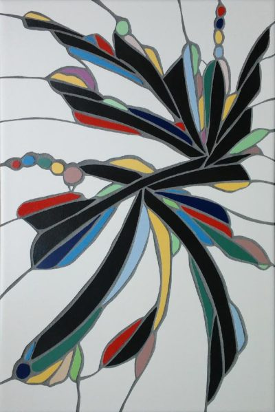Clive Lippett - keramiek - sensuality - tile strokes - bij Zaansgroen
