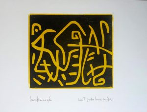Peter Louman - Houtsnede