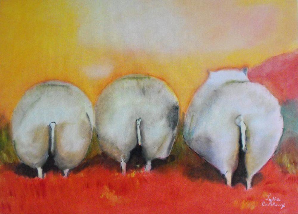 drie-schapen-lydia-canclaux-zaansgroen