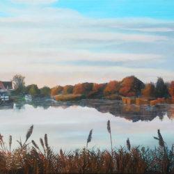 hans-burghouts-westzaan-zaansgroen-kunst-zonsopgang-bij-de-noord