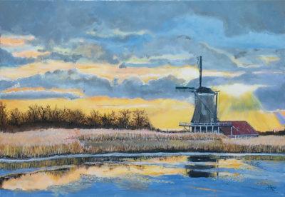 hans-burghouts-westzaan-zaansgroen-kunst-molen-de-schoolmeester