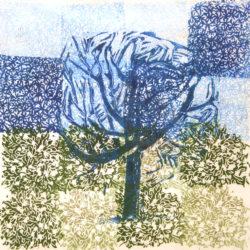 Talking trees - Frenk van Heeswijk - linosnede - Zaandam - te koop bij Zaansgroen