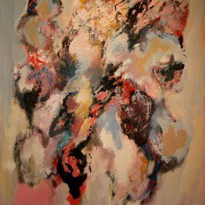 - Bert Braam Bergen - Acrylverf op linnen te koop bij galerie Zaansgroen in Zaandam