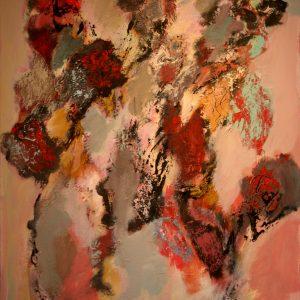 Bert Braam Bergen - Acrylverf op linnen te koop bij galerie Zaansgroen in Zaandam