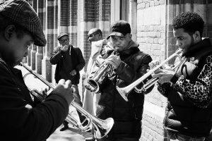 The band, Amsterdam - Friso Kooijman - Zwart Wit Fotografie - Fotovakschool - Zaansgroen - te koop