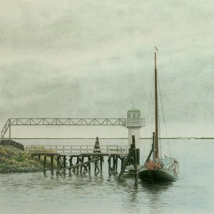 Oostmahorn - haven - Frans Room