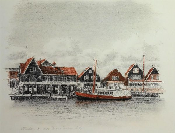 Volendam - haven - Frans Room