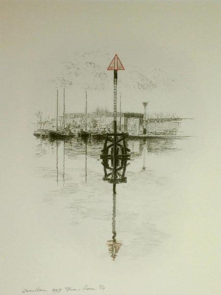 Baken Oude haven van Zaandam