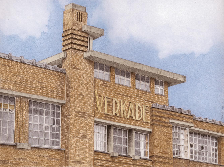 088-Langs-de-Zaan Verkade Koekfabriek