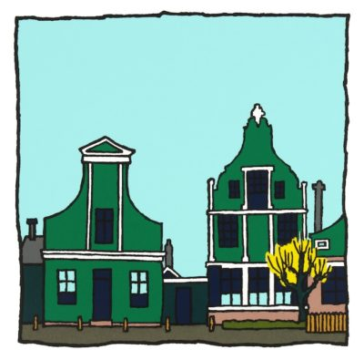 Zaanse huisjes - Wim van Willegen
