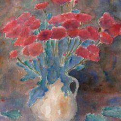 chrysanten-aquarel-frans-room