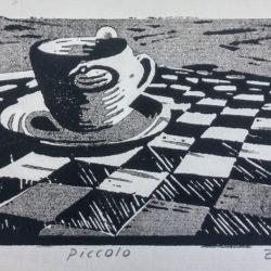 piccolo caffe - linosnede - zaansgroen