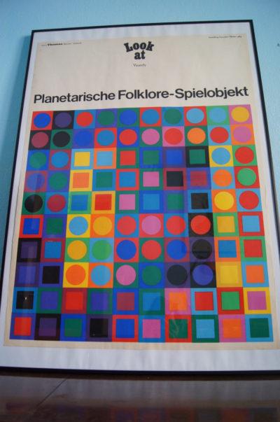 poster Planetarische Folklore-Spielobjekt Victor Vasarely for Galerie Thomas München