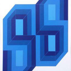 Ronald Abram zeefdruk-1970