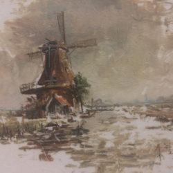 molen-de-zoeker zaandam geschilderd op tegelmolen-de-zoeker zaandam geschilderd op tegel