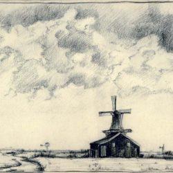 jaap-does-molen-tekening - Koog aan de Zaan