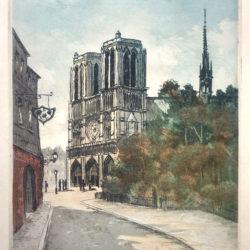 notre dame Paris kleur ets