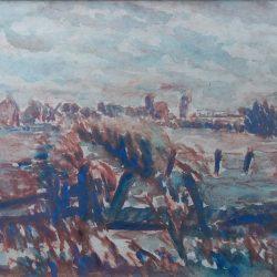 frans-room polderlandschap guisveld