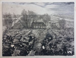 19453 hans kuyt winterlandschap ets aquatint