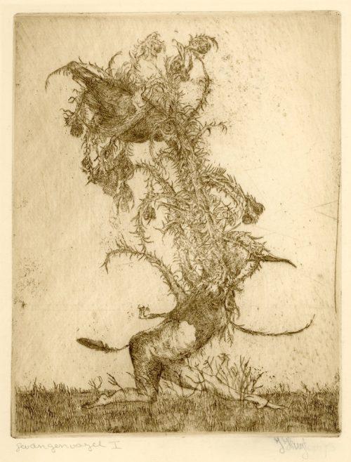 gevangen vogel I proef hans kuyt-19461