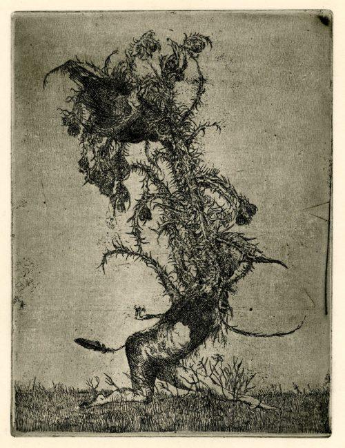 gevangen vogel I proef hans kuyt 19462