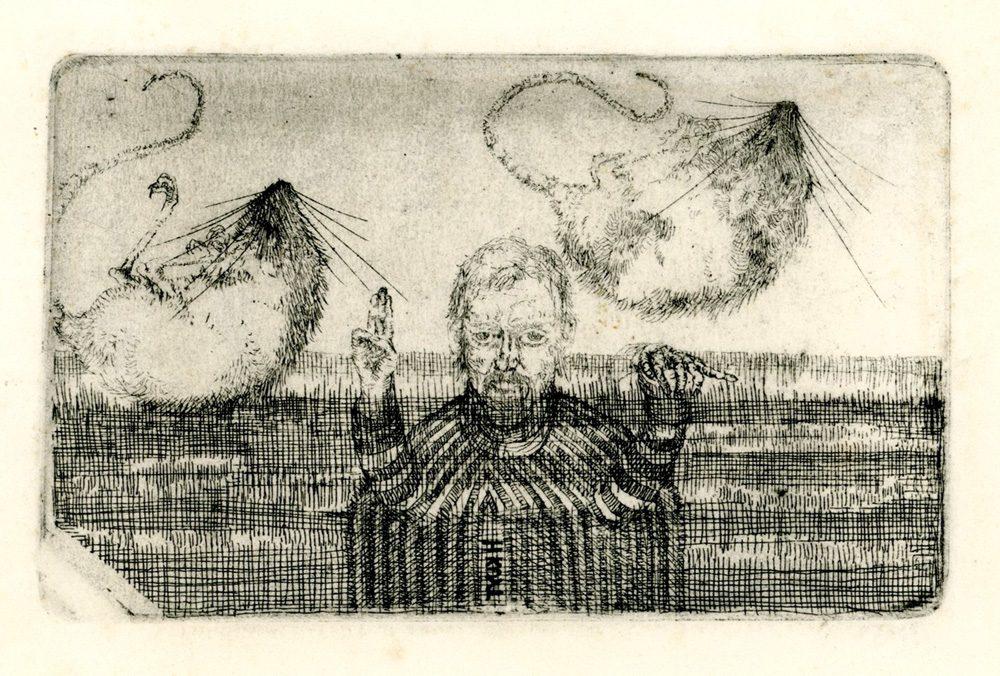 zelfportret met veldmuisjes proef hans kuyt 19468