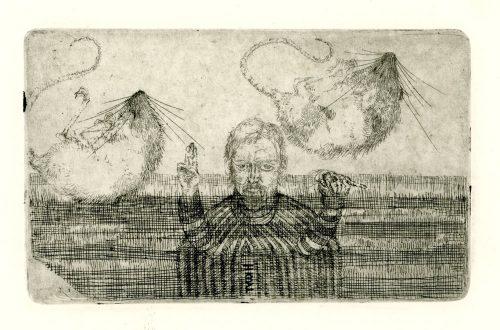 zelfportret met veldmuisjes proef hans kuyt 19469