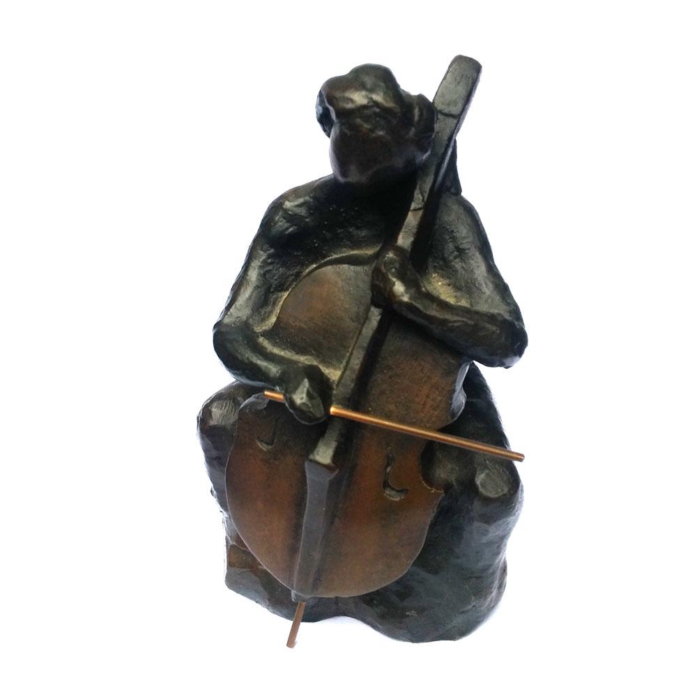 20178 els meijns brons replica celliste muziekschool