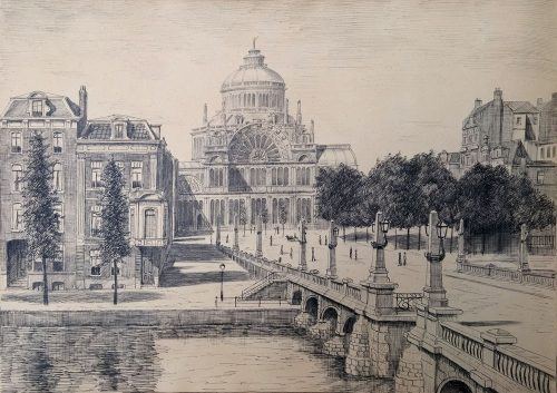 20716 jan pannebakker paleis voor Volksvlijt Amsterdam