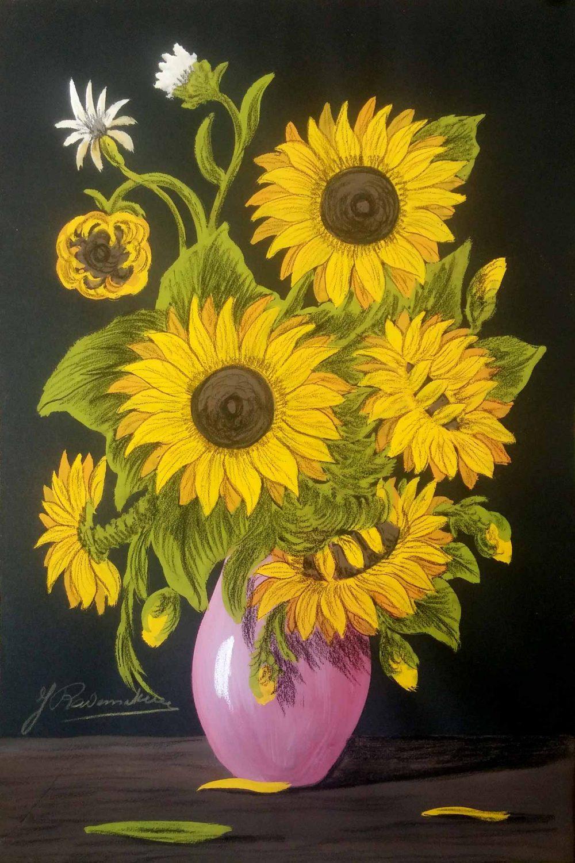 20772 j. rademakers bloemstilleven zonnebloemen
