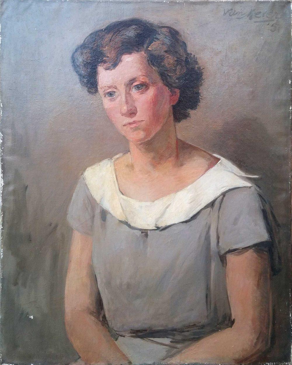 portret Arie van Mever