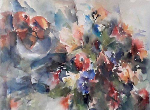 Reina Koerten aquarel