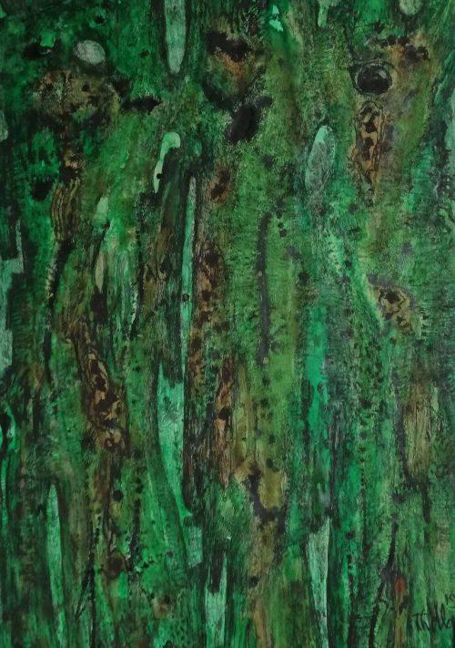 20283 jan van den thillart - groene boomstructuur