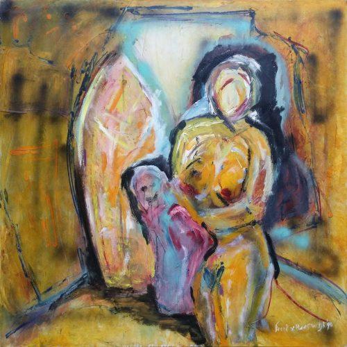 frenk van heeswijk olieverf schilderij