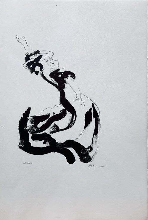 flamenco luis filcer zeefdruk