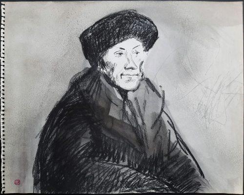 Luis Filcer tekening unicum