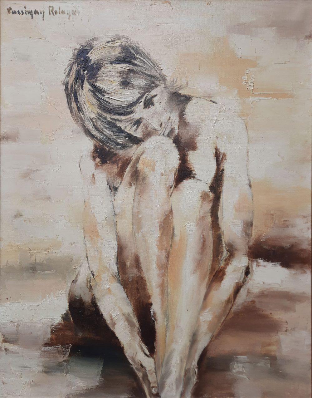 Roland Cassiman olieverf schilderij te koop