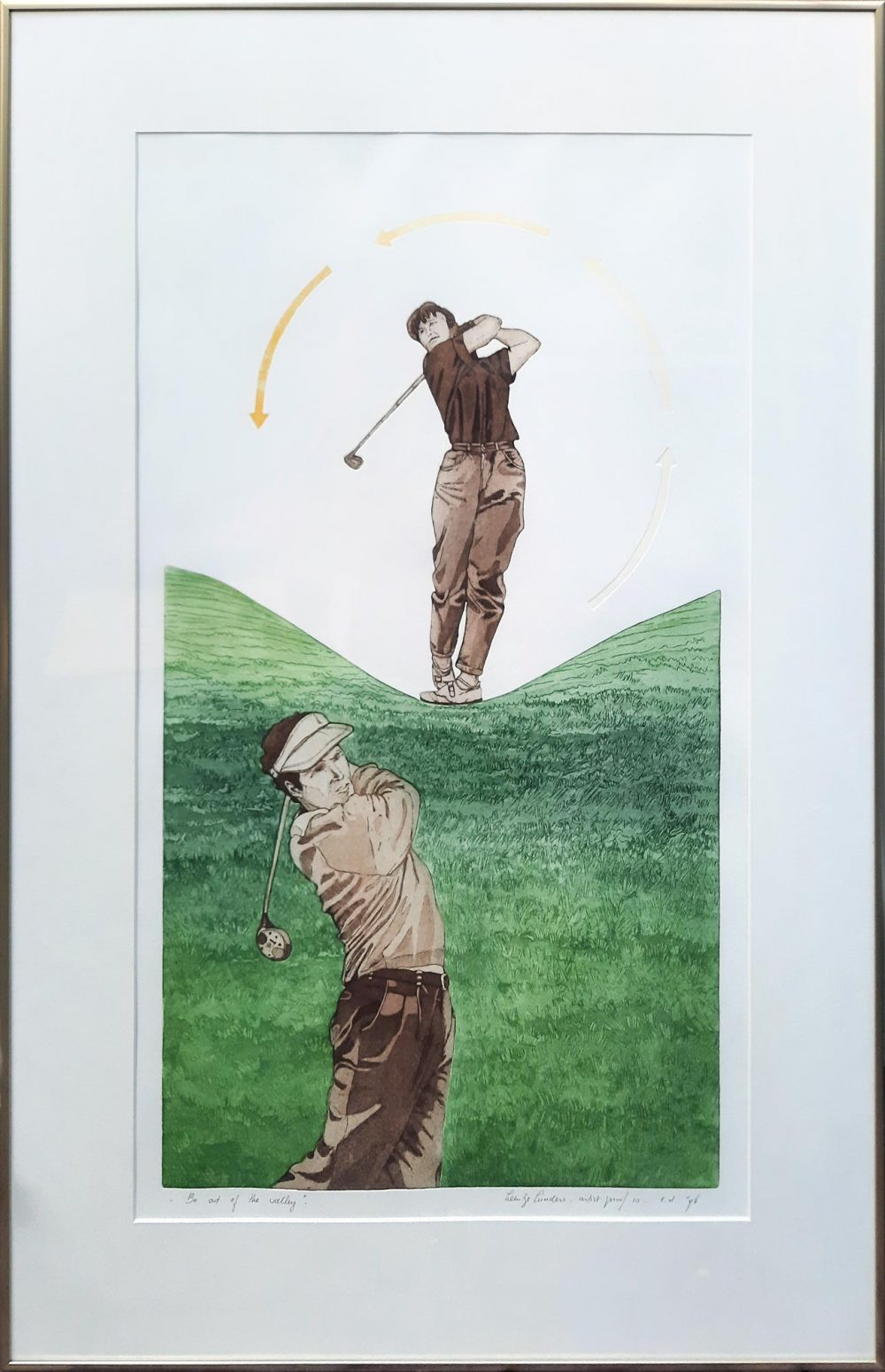Leentje Linders Golf ets